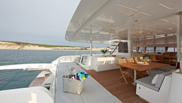 selene catamaran aft deck min -  Valef Yachts Chartering - 4463