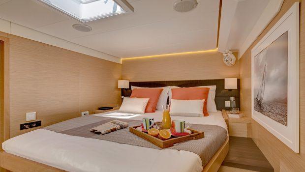 selene catamaran cabin1 min -  Valef Yachts Chartering - 4461