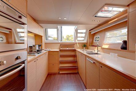 selene catamaran galley min -  Valef Yachts Chartering - 4456