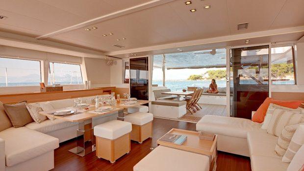 selene catamaran salon (1) min -  Valef Yachts Chartering - 4453