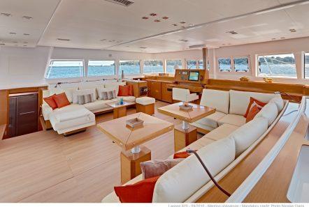 selene catamaran salon (2) min -  Valef Yachts Chartering - 4452