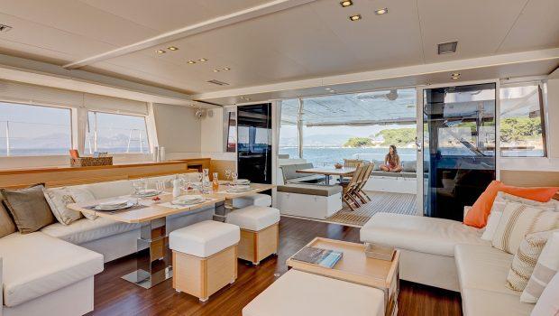 selene catamaran salon (3) min -  Valef Yachts Chartering - 4451