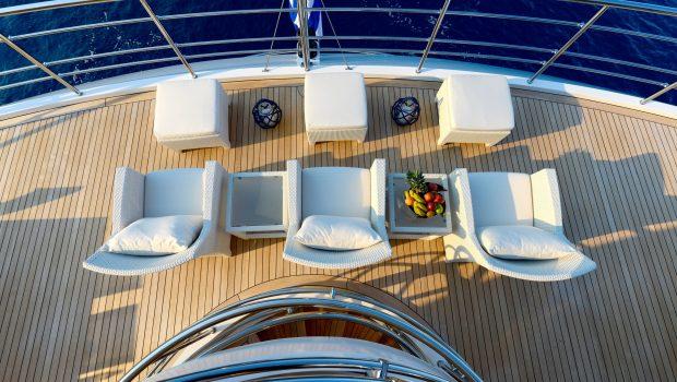 serenity superyacht aerial sundeck min -  Valef Yachts Chartering - 4183