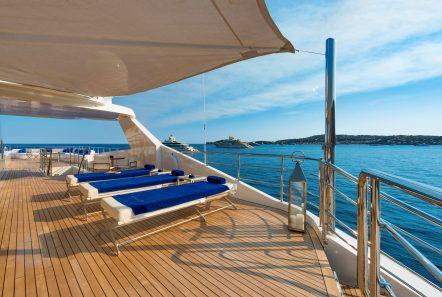 serenity superyacht sun bathing min -  Valef Yachts Chartering - 4250