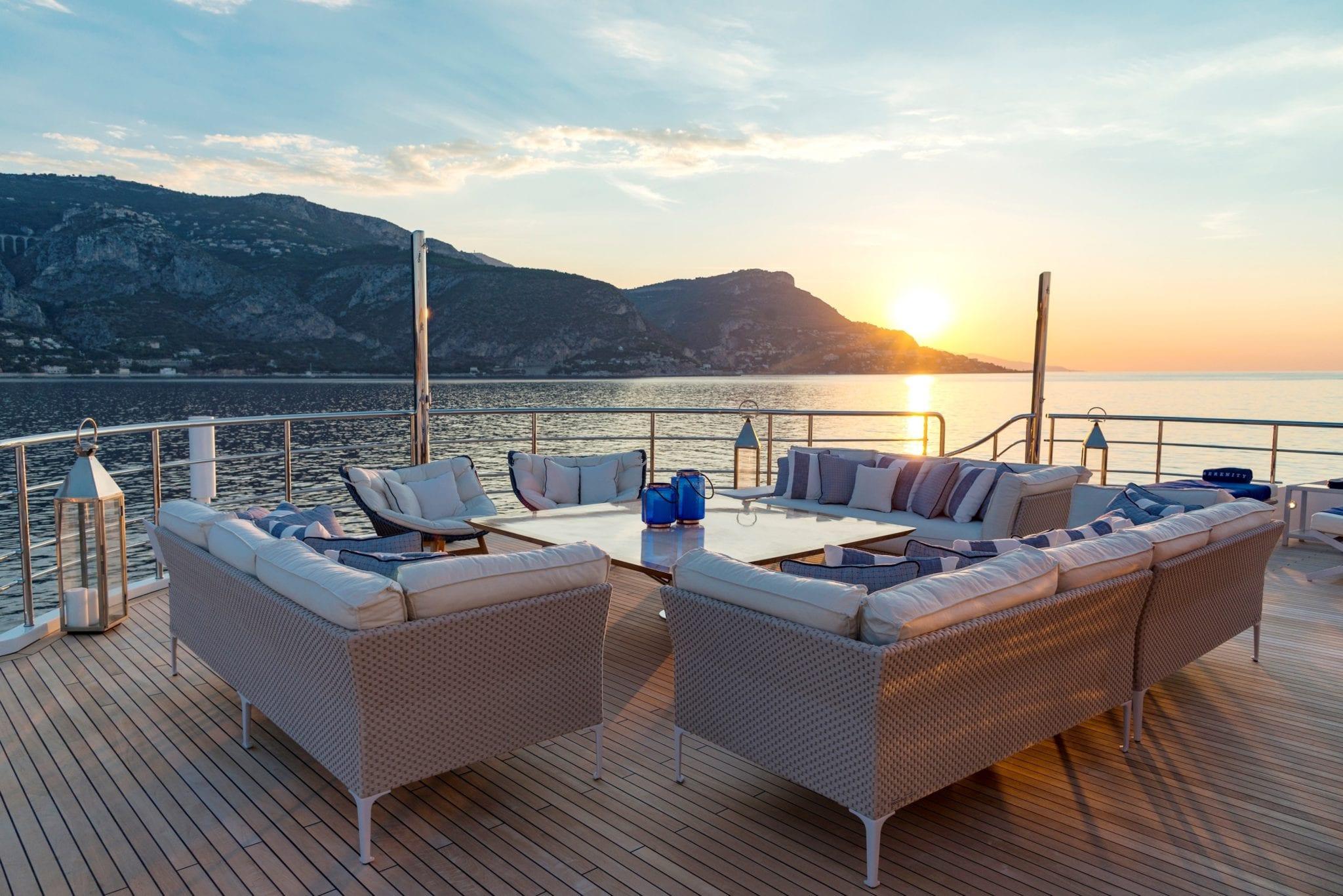 serenity superyacht sundeck (1) min -  Valef Yachts Chartering - 4163