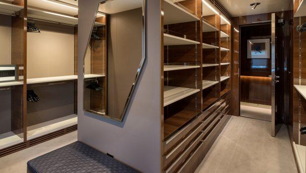 serenity superyacht walk in closet min -  Valef Yachts Chartering - 4242
