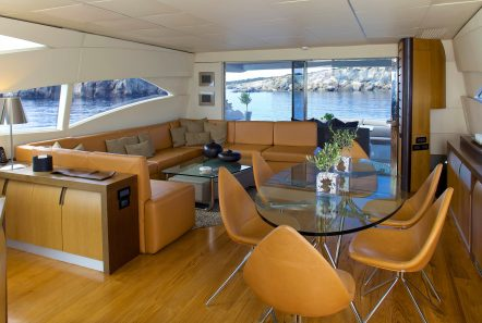 solaris motor yacht salon min -  Valef Yachts Chartering - 4649