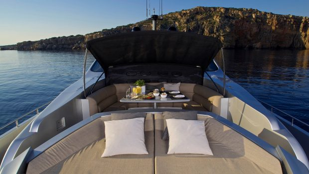 solaris motor yacht sun beds fore min -  Valef Yachts Chartering - 4648