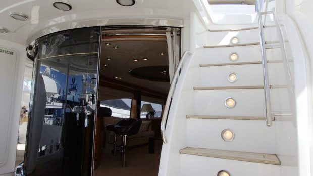ti amo motor yacht aft deck (2) min -  Valef Yachts Chartering - 4023