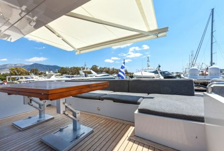 tropicana motor yacht aft dining_valef -  Valef Yachts Chartering - 5137