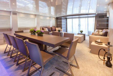tropicana motor yacht dining_valef -  Valef Yachts Chartering - 5135