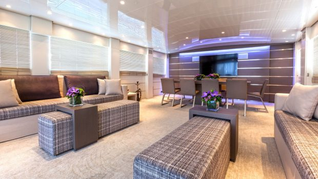 tropicana motor yacht salon (3)_valef -  Valef Yachts Chartering - 5145