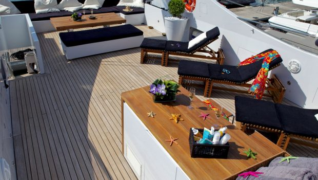 tropicana motor yacht sundeck_valef -  Valef Yachts Chartering - 5143