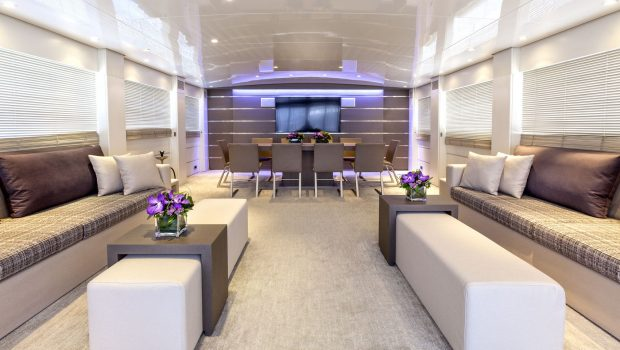 tropicana motor yacht view to dining_valef -  Valef Yachts Chartering - 5140