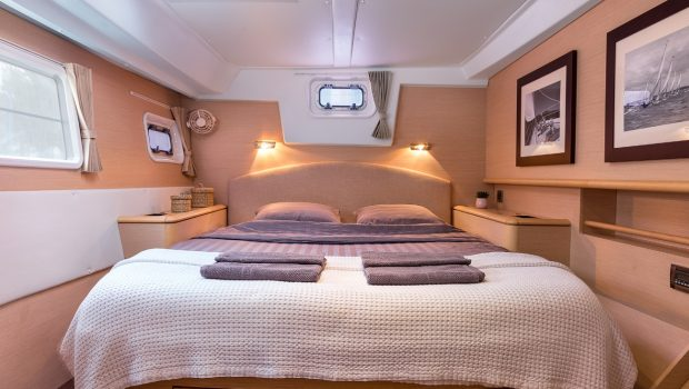 twin pride lagoon 500 cabins (2) -  Valef Yachts Chartering - 3770