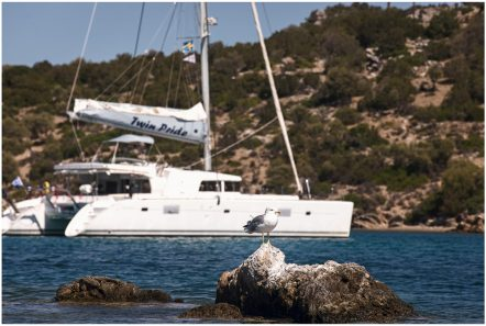 twin pride lagoon 500 exteriors (2) -  Valef Yachts Chartering - 3782