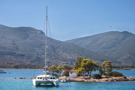 twin pride lagoon 500 exteriors (3) -  Valef Yachts Chartering - 3781
