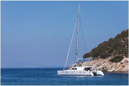twin pride lagoon 500 exteriors (4) -  Valef Yachts Chartering - 3780