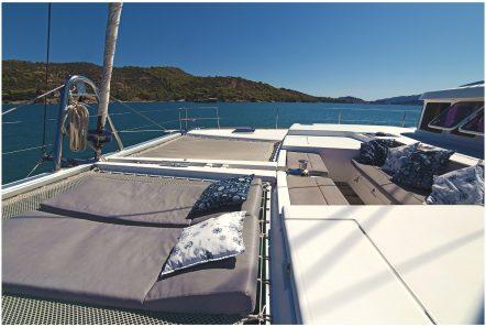 twin pride lagoon 500 lounge -  Valef Yachts Chartering - 3773