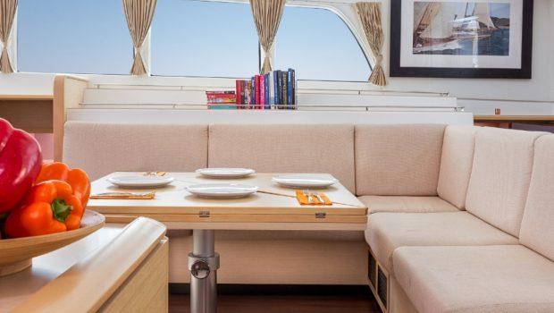 twin pride lagoon 500 salon (1) -  Valef Yachts Chartering - 3777