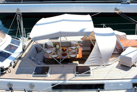 wind of change sailing yacht deck (2) min -  Valef Yachts Chartering - 3735