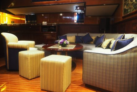 wind of change sailing yacht dining (1) min -  Valef Yachts Chartering - 3719