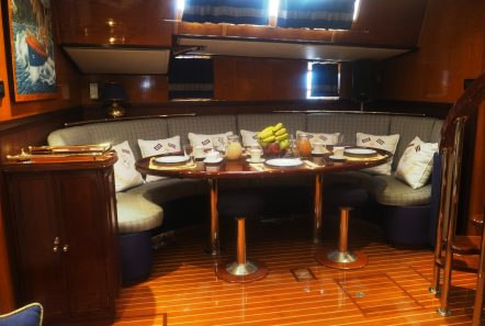 wind of change sailing yacht dining (2) min -  Valef Yachts Chartering - 3718