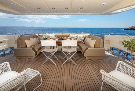 zambezi motor yacht aft deck min min -  Valef Yachts Chartering - 5257