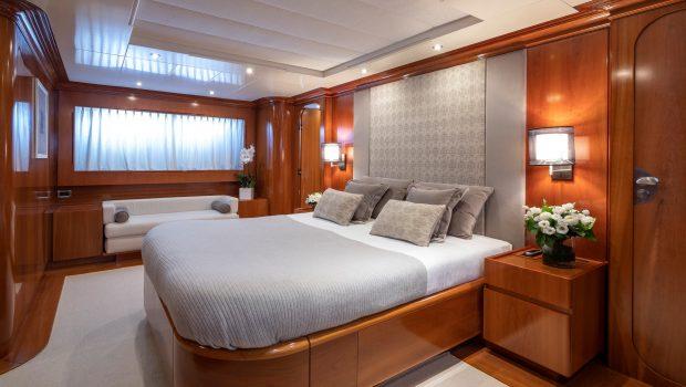 zambezi motor yacht master stateroom min -  Valef Yachts Chartering - 5263