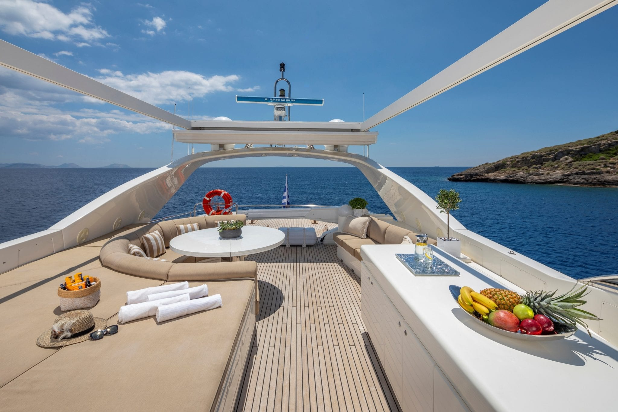 zambezi motor yacht sundeck min -  Valef Yachts Chartering - 5260