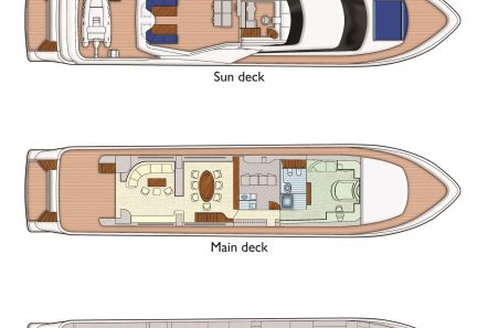 absolute king deck plans min -  Valef Yachts Chartering - 2859