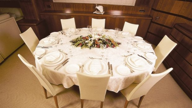 absolute king motor yacht dining min -  Valef Yachts Chartering - 2871