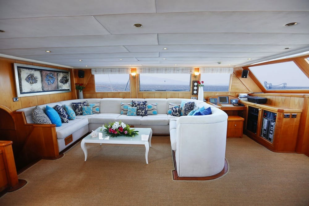 aegean schatz motor sailer gulet  (28) -  Valef Yachts Chartering - 3050
