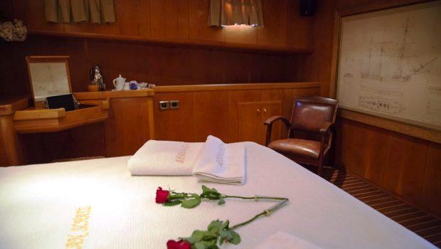 aegean schatz motor sailer gulet cabins (1) -  Valef Yachts Chartering - 3036