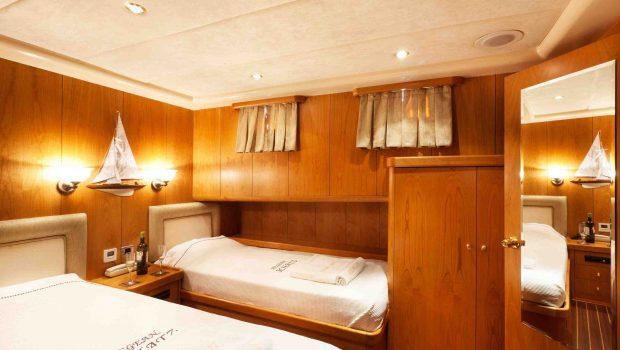 aegean schatz motor sailer gulet cabins (10) -  Valef Yachts Chartering - 3027
