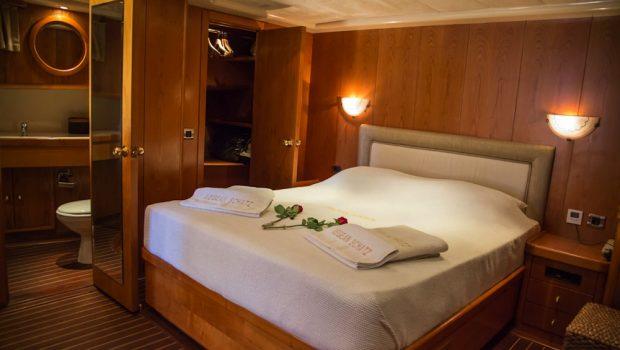 aegean schatz motor sailer gulet cabins (11) -  Valef Yachts Chartering - 3026