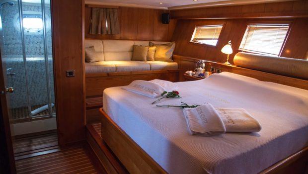 aegean schatz motor sailer gulet cabins (2) -  Valef Yachts Chartering - 3035