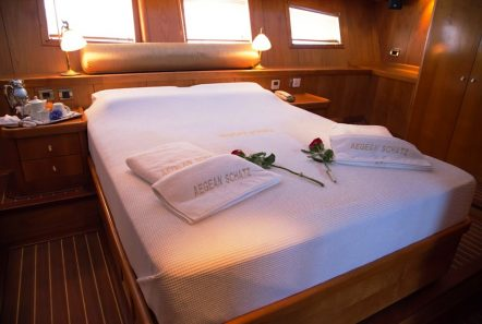 aegean schatz motor sailer gulet cabins (4) -  Valef Yachts Chartering - 3033