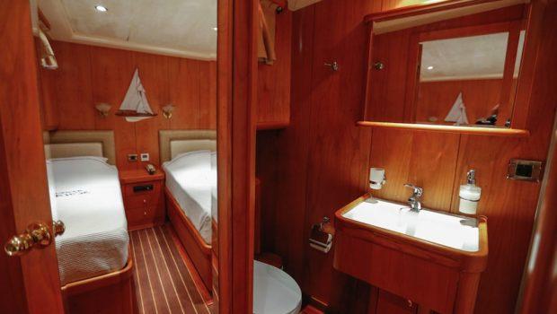 aegean schatz motor sailer gulet cabins (6) -  Valef Yachts Chartering - 3031