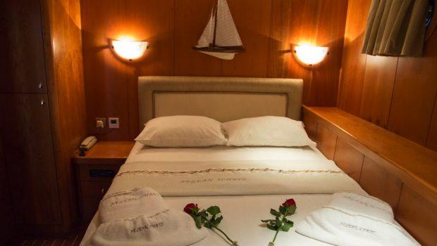 aegean schatz motor sailer gulet cabins (7) -  Valef Yachts Chartering - 3030