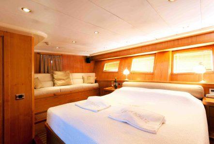 aegean schatz motor sailer gulet cabins (8) -  Valef Yachts Chartering - 3029