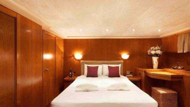 aegean schatz motor sailer gulet cabins (9) -  Valef Yachts Chartering - 3028