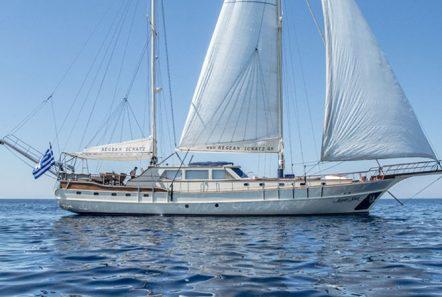 aegean schatz motor sailer gulet exterior (1) -  Valef Yachts Chartering - 3024