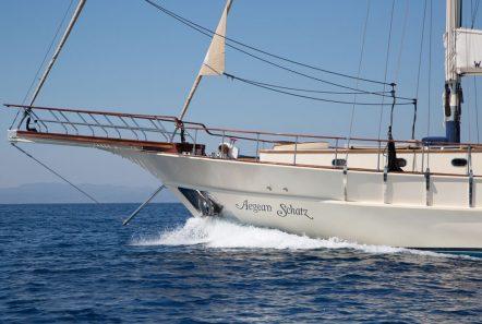 aegean schatz motor sailer gulet exterior (2) -  Valef Yachts Chartering - 3023