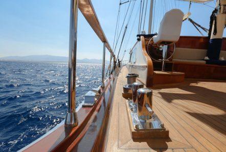 aegean schatz motor sailer gulet exterior (3) -  Valef Yachts Chartering - 3022