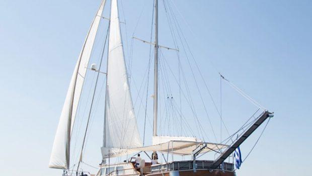 aegean schatz motor sailer gulet exterior (5) -  Valef Yachts Chartering - 3020