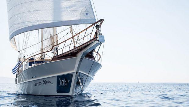 aegean schatz motor sailer gulet exterior (6) -  Valef Yachts Chartering - 3019