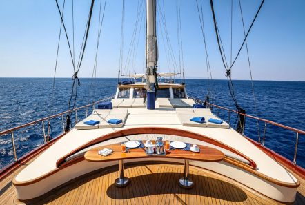 aegean schatz motor sailer gulet fore) (1) -  Valef Yachts Chartering - 3061