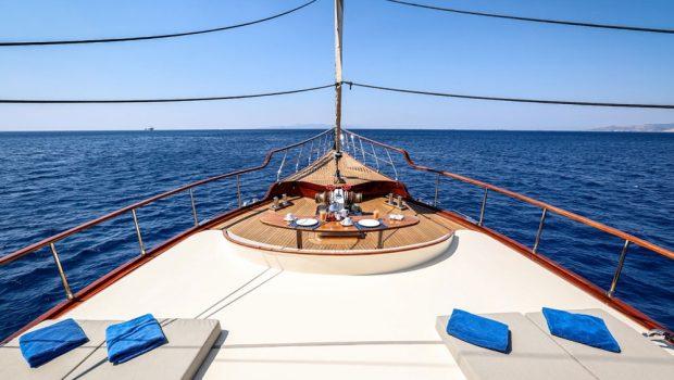 aegean schatz motor sailer gulet fore) (2) -  Valef Yachts Chartering - 3060