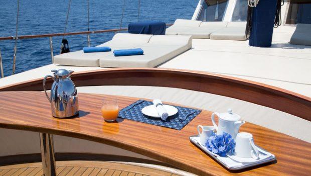 aegean schatz motor sailer gulet fore) (3) -  Valef Yachts Chartering - 3059